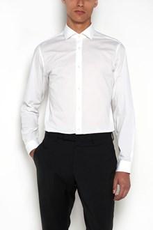 Z ZEGNA Stretch cotton shirt with 'Diego' collar