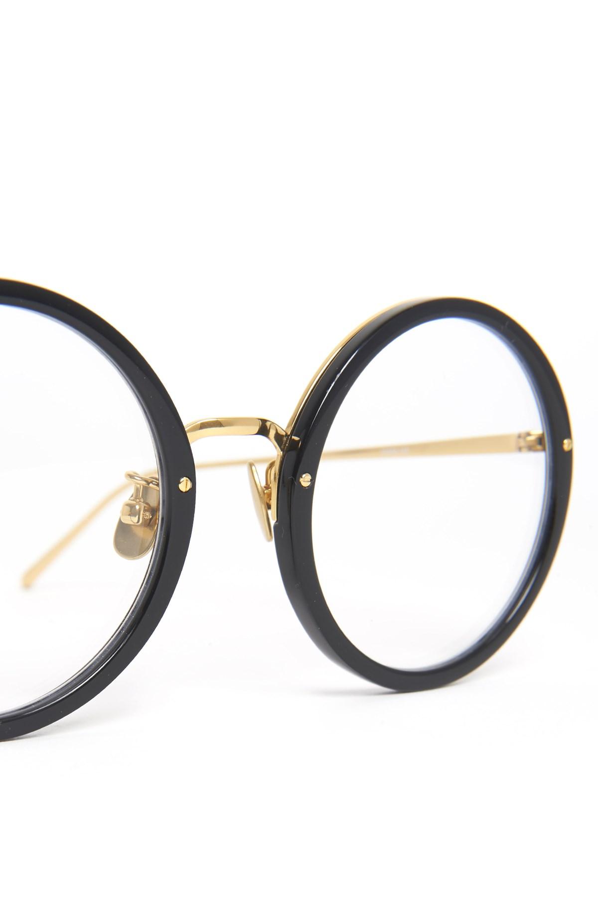 7620e1ab7ed7bf linda farrow occhiali da sole forma rotonda su julian-fashion.com ...