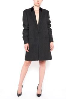 SAINT LAURENT V-neck coat