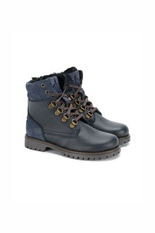 DOLCE & GABBANA Ankle boots with fur lining and laces