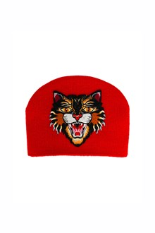 GUCCI Beanie with Tiger patch
