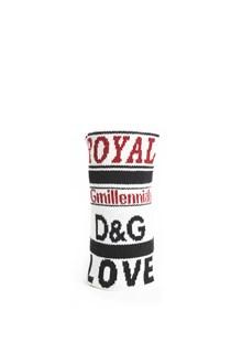 DOLCE & GABBANA Wool wristband