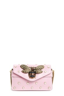 GUCCI 'Broadway' leather clutch