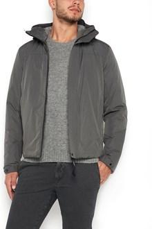 C.P. COMPANY giacca lunga con chiusura a zip, tasche e cappuccio
