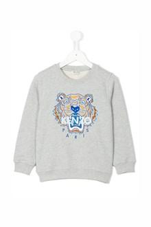 KENZO KIDS 'Tiger' printed cotton sweatshirt