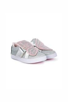 SOPHIA WEBSTER 'Bibi' low top mini slip-on leather sneakers