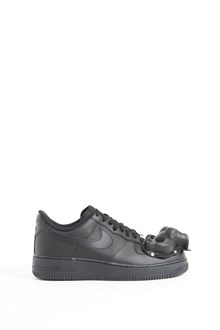 COMME DES GARÇONS HOMME PLUS leather sneaker with application