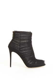 DOLCE & GABBANA tulle and satin boots
