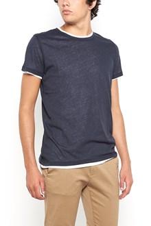 MAJESTIC FILATURES double cotton t-shirt mixed cashmere