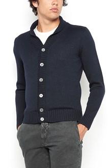 ZANONE merino wool cardigan with buttons and shawl