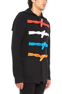 GIVENCHY Mongomery jacket with multicolor buttons
