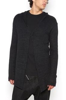 10SEI0OTTO maglia in lana con dettagli in pelle
