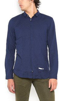 DNL cotton slim shirt with small neck