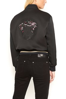 VERSACE bomber with print back