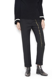 HAIDER ACKERMANN gold detail pants