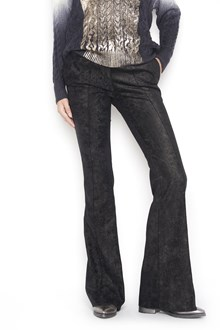 NUDE laminated pants