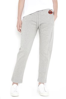 MARKUS LUPFER Jogging pants with 'Red lara lip' patch