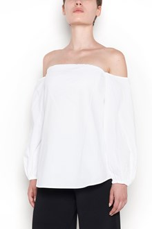 THEORY cotton top off shoulder