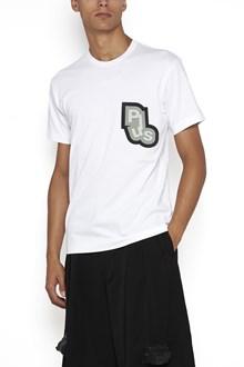 COMME DES GARÇONS HOMME PLUS cotton t-shirt with applications