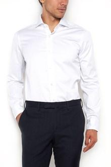 BARBA Camicia in cotone a maniche lunghe a righe