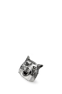 GUCCI 'Angry forest' silver ring