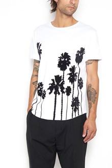 CHRISTIAN PELLIZZARI printed palms t-shirt