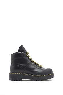 PRADA LINEA ROSSA Soft calf leather laced up ankle boots