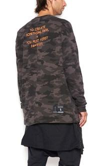 UNRAVEL cotton sweatshirt