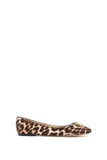 """TORY BURCH """"chelsea"""" ballet leopard"""