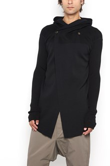 RICK OWENS Hooded cardigan