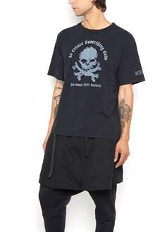 UNRAVEL 'Skull' printed cotton t-shirt