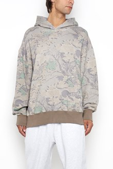 YEEZY 'Boxy fit' camouflage printed hooded sweatshirt