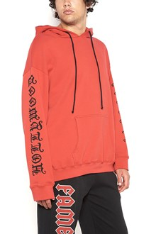 ADAPTATION hoodie with printed sleeves