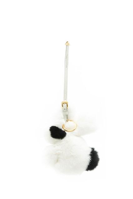 PRADA Keyring with fur