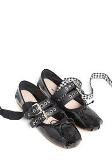 MIU MIU buckles ballets flat