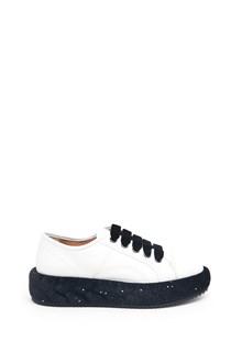 MARCO DE VINCENZO sneakers in velvet