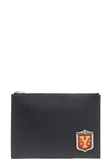 SAINT LAURENT pochette con patch