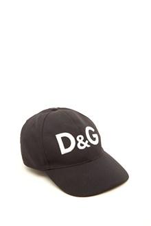 DOLCE & GABBANA baseball cap with embroidery logo