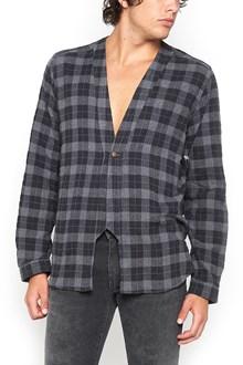 DNL kimono checked shirt