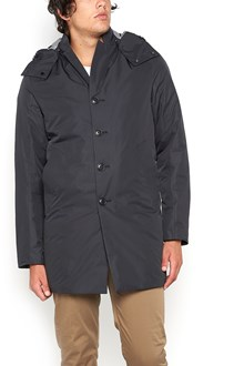 C.P. COMPANY long padded jacket with hood