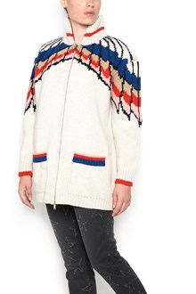 STELLA MCCARTNEY 'all is love' zipped cardigan