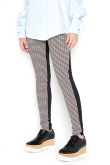 STELLA MCCARTNEY checked all over leggings