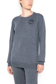 MARKUS LUPFER wool sweater with small sequin planet