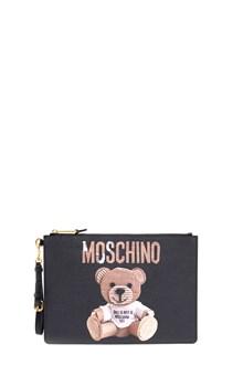 MOSCHINO 'teddy play boy' clutch