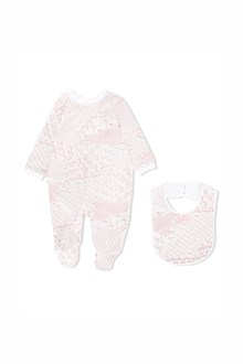 MISSONI KIDS baby set in cotone tutina e bavaglino