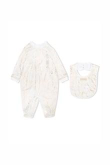 MISSONI KIDS cotton suit and bib baby set