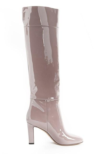 AGNONA patent boots