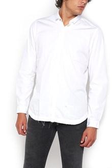 DNL shirt with raw cut seam