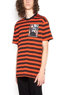 GIVENCHY cotton striped t-shirt with print