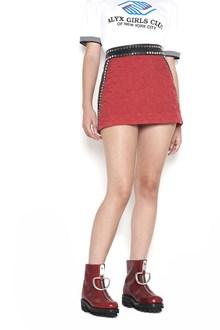 ALYX mini skirt with studs